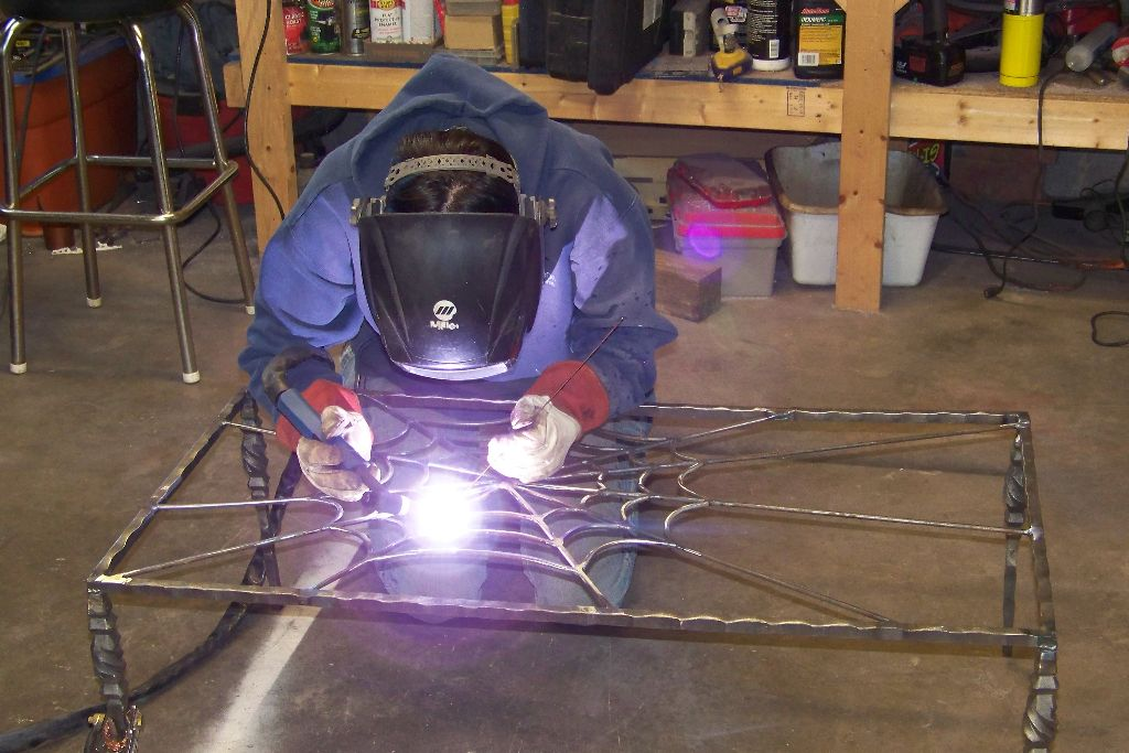 Barbie Parsons: Woman Welding!