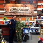 Jim Watson and Alexandra Pollard at Arc-Zone