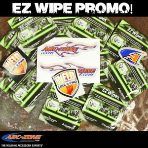 EZ Wipes--clean your base metal