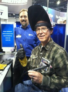 Jim Welding at FABTECH