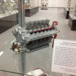 Ferrari V12 Scaled-Down Engine