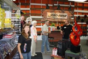 Arc-Zone Grand Opening of Retail Showroom