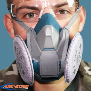 3M™ Rugged Comfort Half Facepiece 6500 Series