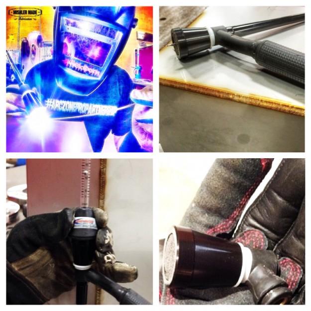 Vortex TIG welding nozzle