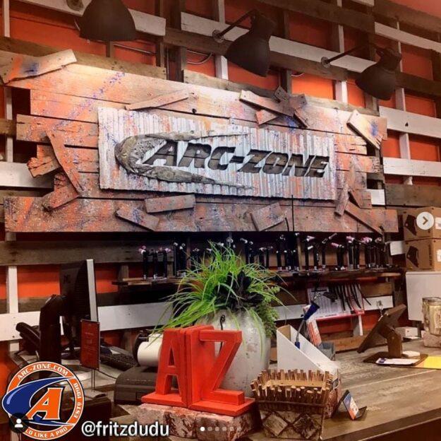 Arc-Zone Showroom TIG Torch Display