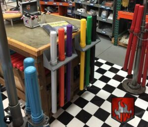 Arc-Zone Showroom Rod Guard