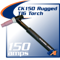CK Worldwide rugged Contractor Series TIG Torch