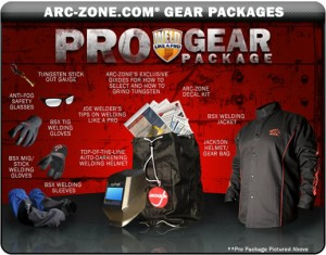 Arc-Zone Pro Gear Package
