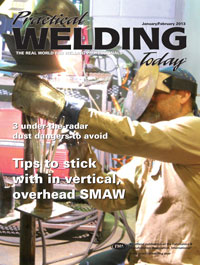Practical Welding Today cover