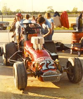 Jim's Father (Jim Watson Sr) - The Speed Sport West USAC Champ Dirt Car which is in the Sprint Car Hall of Fame