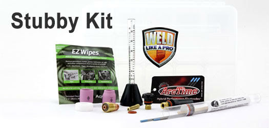 Stubby Kits for TIG Welding